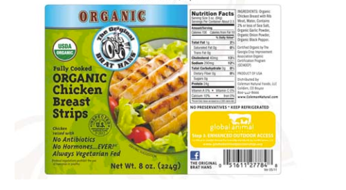 Whole Foods Organic Chicken Breast Nutrition